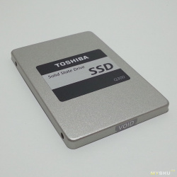 Ssd диск toshiba q300 120гб. брендовый середнячок.