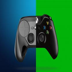 Steam controller vs microsoft xbox wireless
