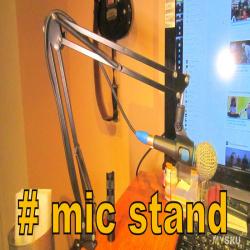 Стойка для микрофона = на бок стола. вместо лампы