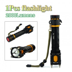 Тактический фонарь ultrafire на 2000 люмен
