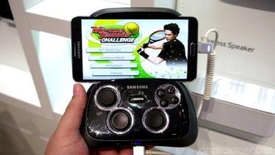 Теперь и от samsung –smartphone gamepad