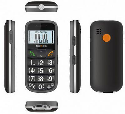 Texet tm-b110: недорогой бабушкофон, идущий на смену tm-b100