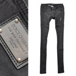 Удобные повседневные джинсы, реплика dolce gabbana.