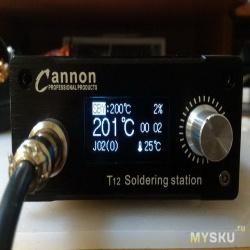 Upgrade контроллера паяльной станции для жал hakko t12 с taobao - меняем дисплей 0.96 на 1.3