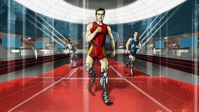 В 2016 г. пройдет первая олимпиада для киборгов. фото