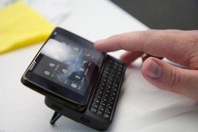 В смартфонах nokia появится multi-touch