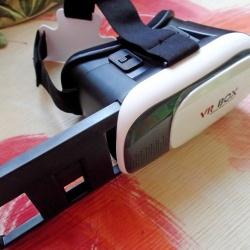 Виртуальные очки vr-box 2.0 с bluetooth пультом д/у для смартфонов с экранами от 3.5 до 6.0 дюймов.