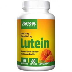 Витамины от jarrow formulas. поддержка зрения в период высоких нагрузок - лютеин/зеаксантин c iherb
