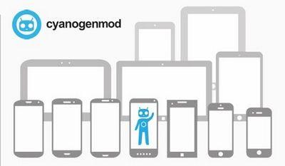 Вот так выглядит установщик прошивки cyanogenmod на android и windows