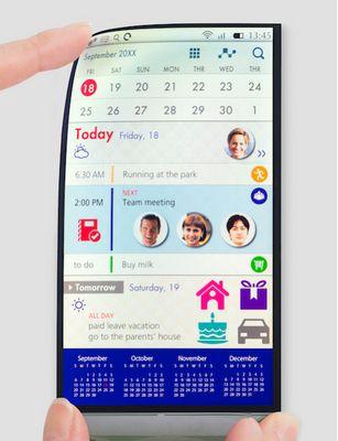 Wall street journal: в iphone будут ставить гибкие дисплеи