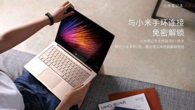 Xiaomi показала обновленные mi notebook air с поддержкой 4g