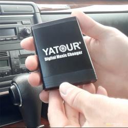 Yatour ytm06 цифровой cd чейнджер для штатной магнитолы