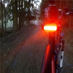 Задний велофонарь моей мечты с технологией cob